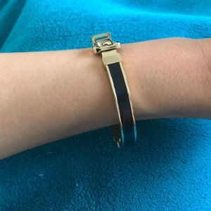 Jewelry - Michael kors black and gold bracelet